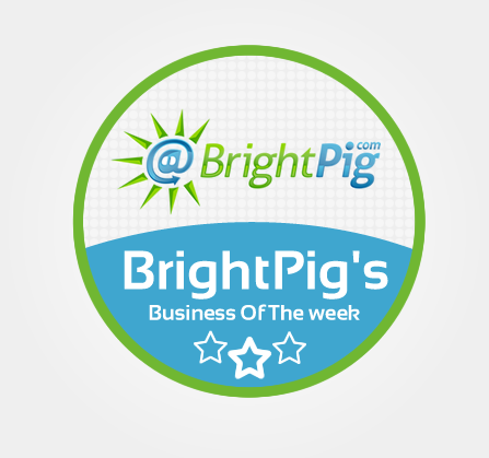 Bright Pig Business of the Week #BrightPigWINNER